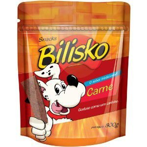 Petisco Bilisko Carne 800g