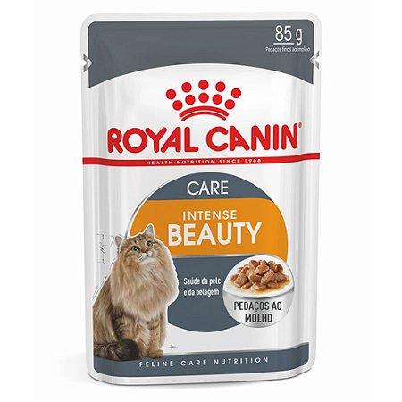 Ração para Gatos Adultos Royal Canin Sachê Feline Intense Beauty 85 g