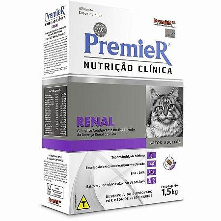 Ração Premier Nutrição Clínica Gatos Renal