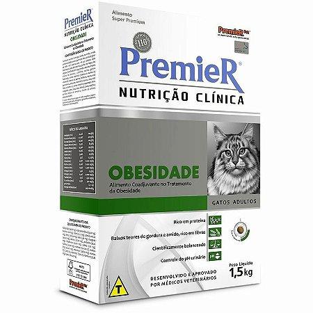 Ração Premier Nutrição Clínica Gatos Obesidade