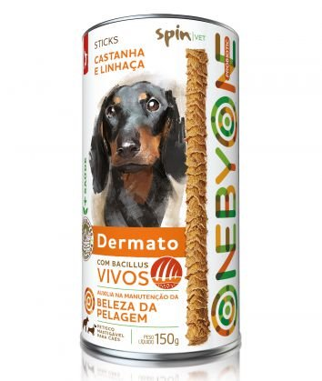 Petisco One by One Stick Probiotic Dermato 150g