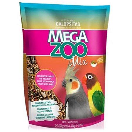 Ração Megazoo Mix Calopsitas 350g