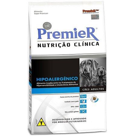 Ração Premier Nutrição Clínica Cães Hipoalergênico 2kg