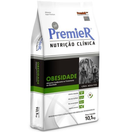 Ração Premier Nutrição Clínica Cães Obesidade 2KG