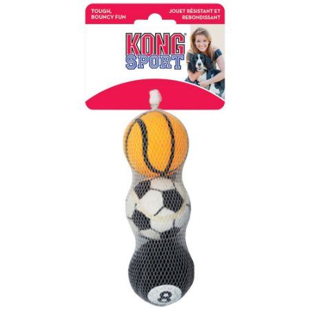 Kong Sport Ball Medium (ABS2) 3 Unidades