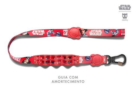 Zeedog Star Wars Guia com Amortecedor Leia