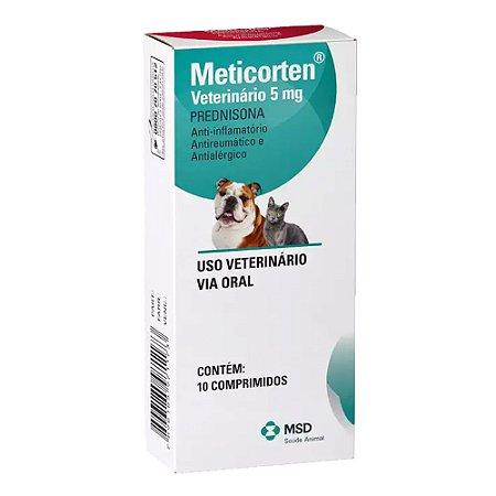 MSD - Meticorten 5 mg - 10 Comprimidos