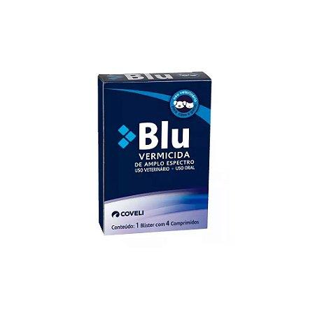 Blu Vermicida 4 Comprimidos - Coveli