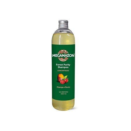 Megamazon Shampoo Forest Purity Pitanga e Buriti 300mL