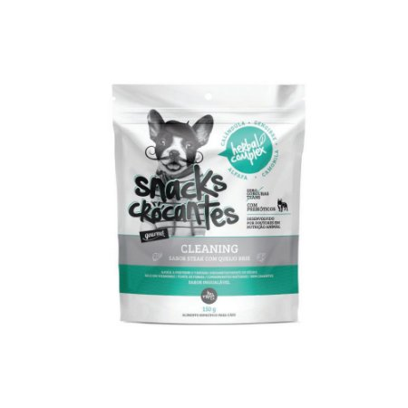Oh Lá Lá Pet Snacks Crocantes Herbal Complex Cleaning 150 g
