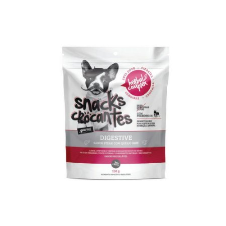 Oh Lá Lá Pet Snacks Crocantes Herbal Complex Digestive 150 g