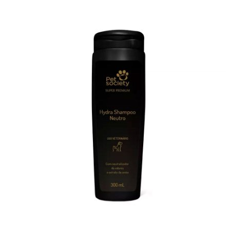 Shampoo Pet Society Neutro - Super Premium 300 mL