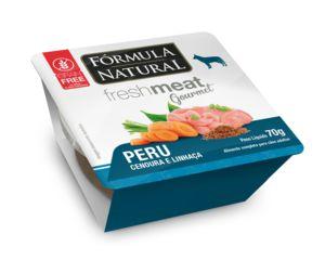 Ração Úmida para Cães Fórmula Natural Fresh Meat Gourmet Peru 70g