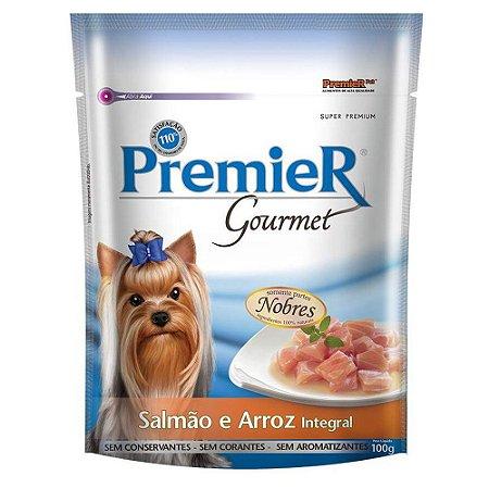 Ração para Cães Premier Gourmet Salmão e Arroz Integral 100g