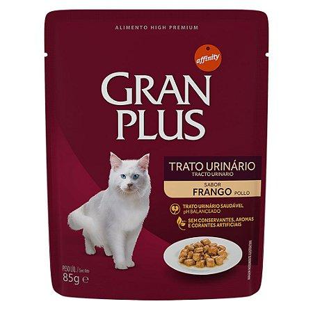 Ração para Gatos Adultos Gran Plus Sache Trato Urinário Frango 85g