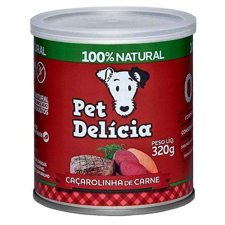 Ração Úmida para Cães Pet Delícia Caçarolinha de Carne