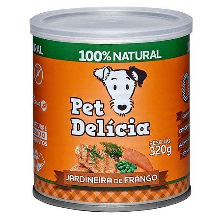 Ração Úmida para Cães Pet Delícia Jardineira de Frango