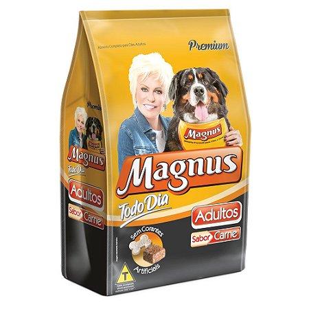 Ração para Cães Adultos Magnus Todo Dia Carne Leve 16kg Pague 15kg