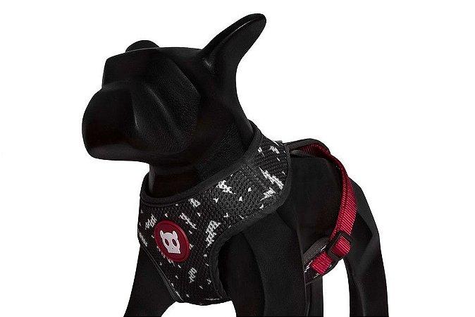 Zeedog Peitoral para Cachorros Air Mesh Flash