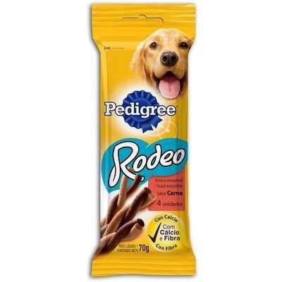 Petisco Pedigree Rodeo Carne 4 Sticks 70g