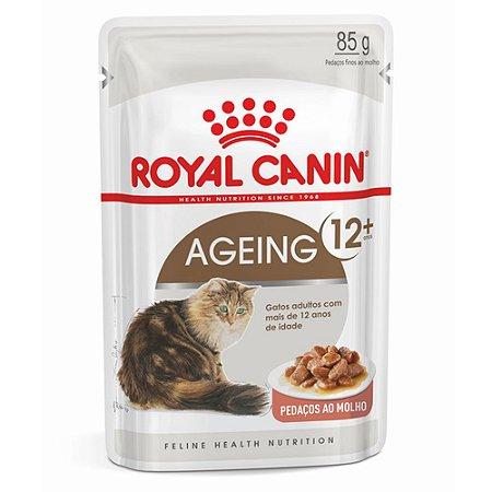 Ração para Gatos Idosos Royal Canin Sachê Feline Ageing +12 85g