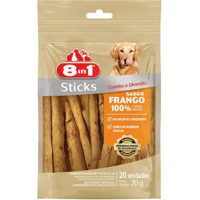 8IN1 STICKS FRANGO 70G