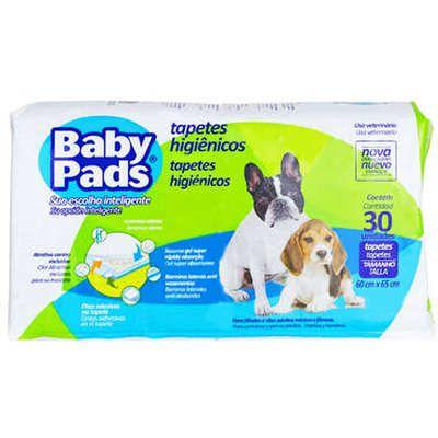 Baby Pads Tapete Higiênico - 30 Unidades