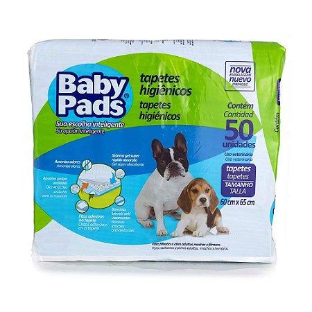 Baby Pads Tapete Higiênico - 50 Unidades