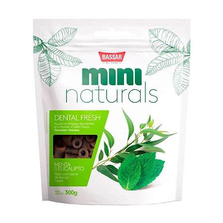 Bassar Mini Naturals Dental Fresh sabor Frango 60g