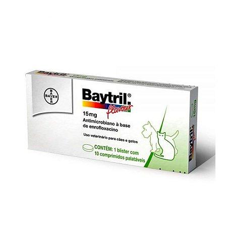 Baytril Flavour 15mg 10 Comprimidos