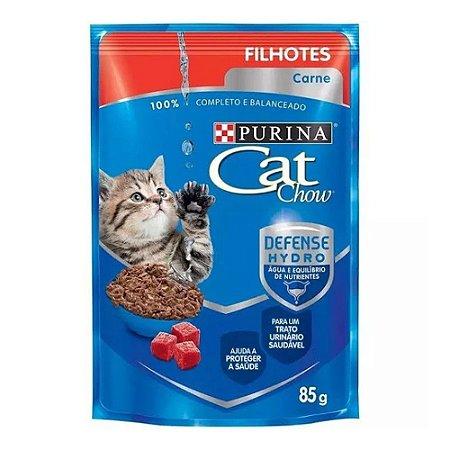 Cat Chow Sachê Filhote sabor Carne 85g