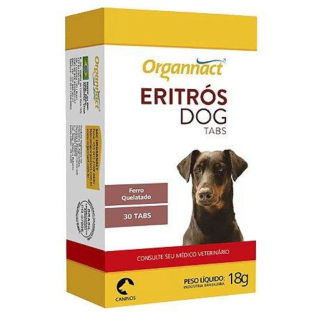 Suplemento para Cães Organnact Eritros Dogs Tabs 18g