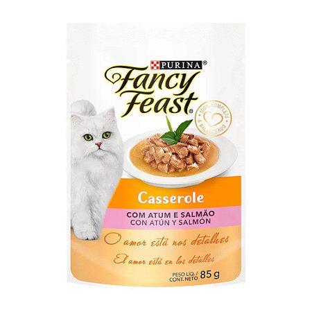 Fancy Casserole sabor Atum e Salmão 85g
