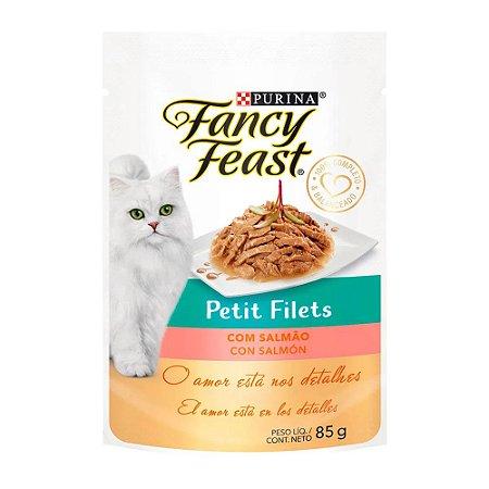 Fancy Petit Filets sabor Salmão 85g