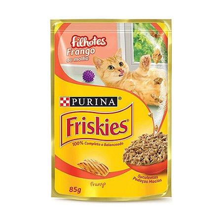 Friskies Sachê para Gatos Filhotes sabor Frango 85g