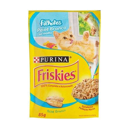 Friskies Sachê para Gatos Filhotes sabor Peixe 85g