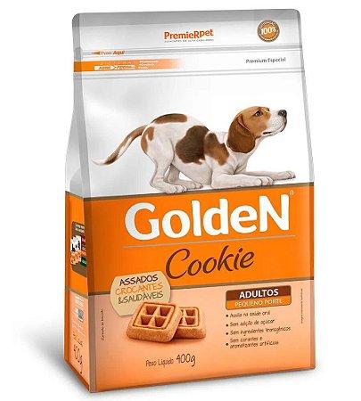 Biscoito para Cães Adultos Golden Cookie Pequeno Porte 400g