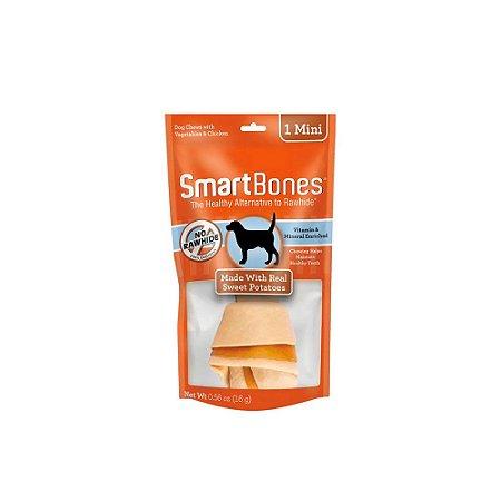 SmartBones Osso 1 Mini de Frango com Batata Doce 16g
