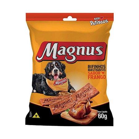 Magnus Bifinho Mastigável para Cães Adultos sabor Frango 60g
