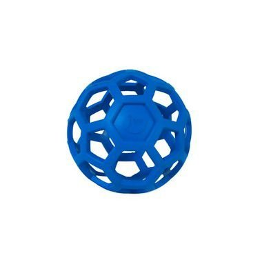 JW Bola Holee Roller cor Azul Tam. M
