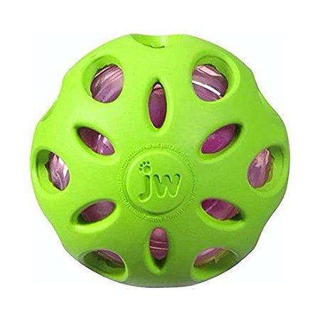 JW Bola Crackle cor Verde Tam. G