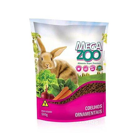 Megazoo Alimento Super Premium para Coelhos Ornamentais 500g