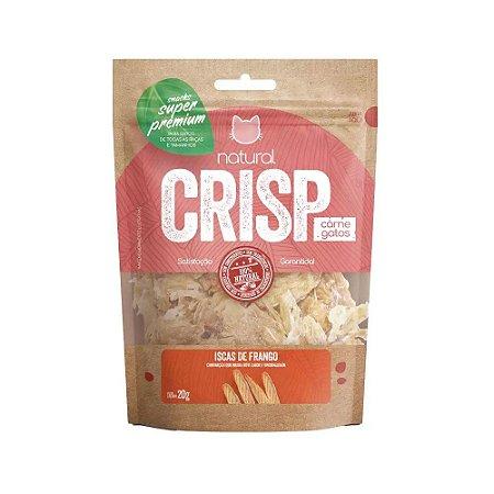 Natural Crisp para Gatos sabor Iscas de Frango 20g