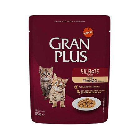 Gran Plus Sachê para Gatos Filhotes sabor Frango 85g