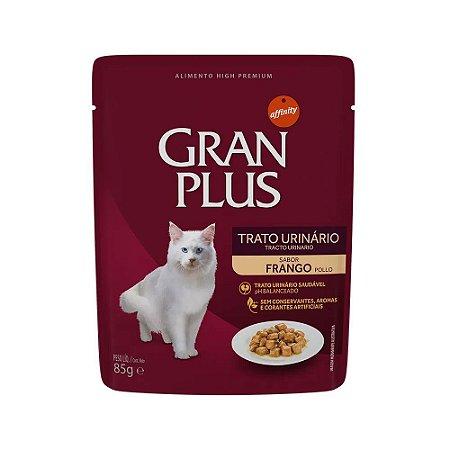 Gran Plus Sachê para Gatos Trato Urinário sabor Frango 85g