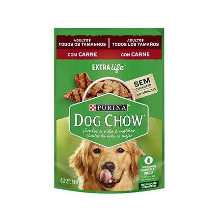 Dog Chow Sachê para Cães sabor Carne 100g