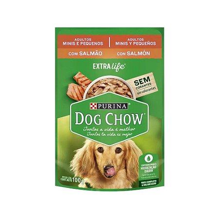 Dog Chow Sachê para Cães Pequenos sabor Salmão 100g