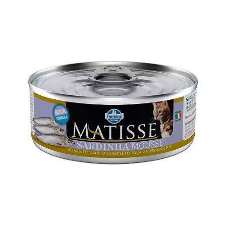 Matisse Mousse para Gatos Adultos sabor Sardinha 85g