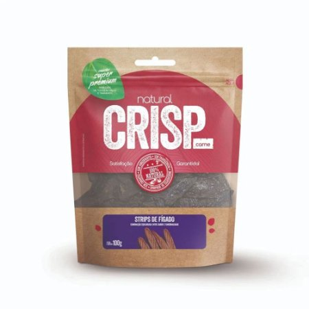 Natural Crisp Blend para Cães sabor Chips de Fígado, Maçã e Beterraba 20g
