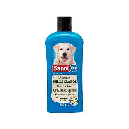 SANOL DOG SH. PELOS CLAR 500ML